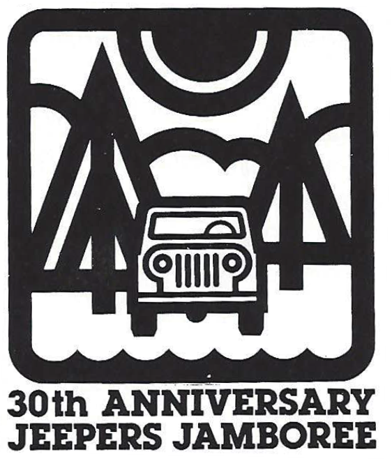 Jeepers Jamboree 30th Logo